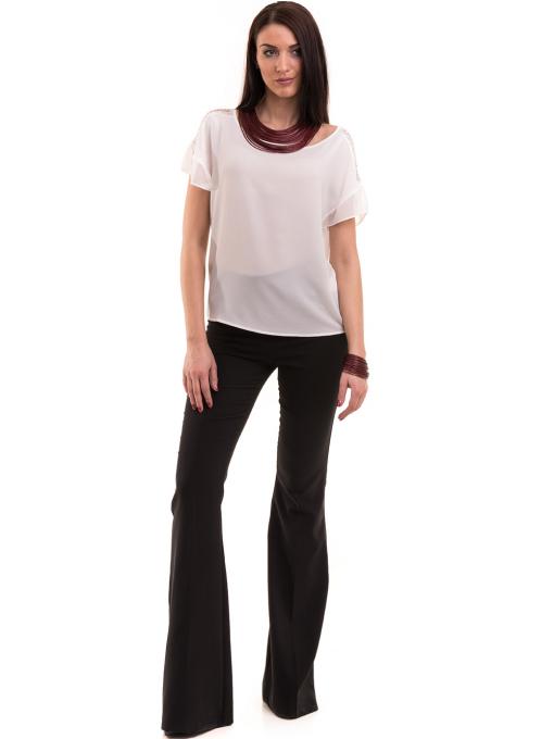 Дамска елегантна блуза KOTON 63778 - бяла C