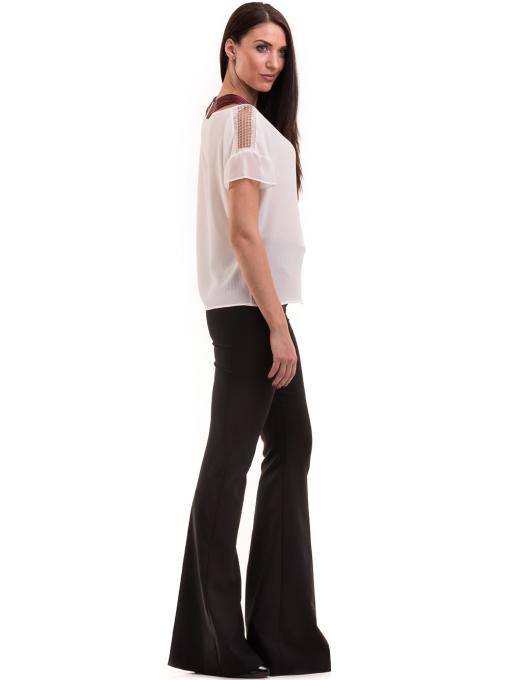 Дамска елегантна блуза KOTON 63778 - бяла C1