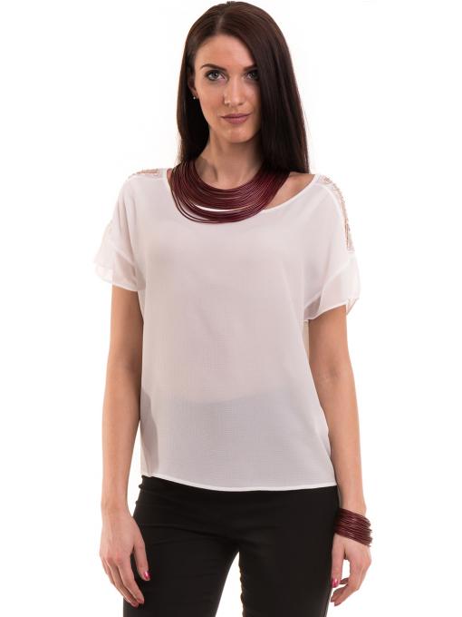 Дамска елегантна блуза KOTON 63778 - бяла