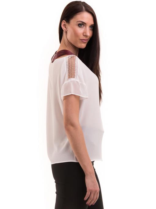 Дамска елегантна блуза KOTON 63778 - бяла B