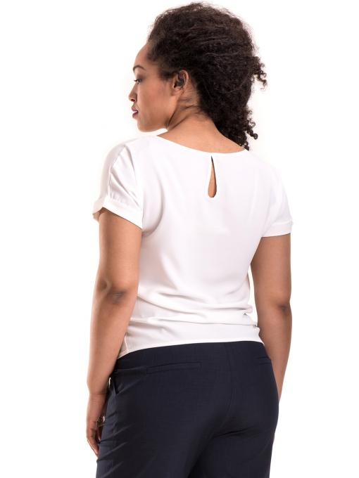 Дамска елегантна блуза PRETTY LOLITA 11568 - цвят екрю B