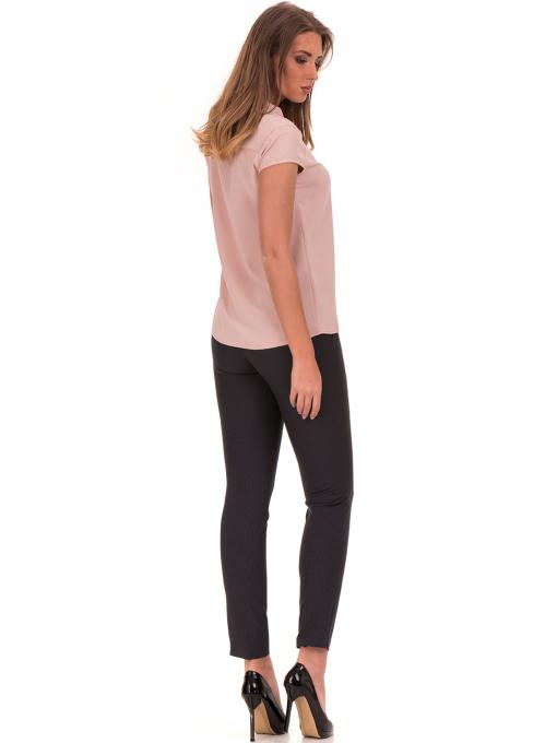 Дамска елегантна блуза SERFA 3775 - цвят пудра E