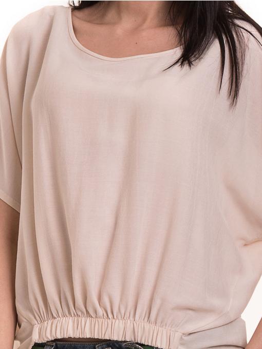 """Дамска спортно-елегантна блуза TWO""""E 11282 - цвят праскова D"""