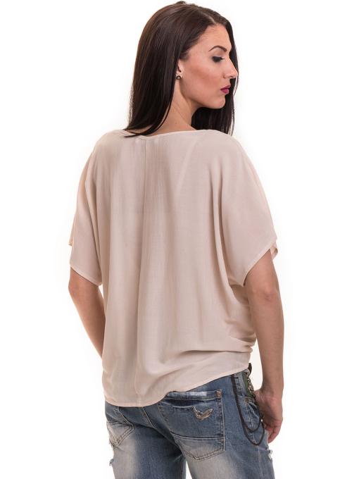 """Дамска спортно-елегантна блуза TWO""""E 11282 - цвят праскова B"""