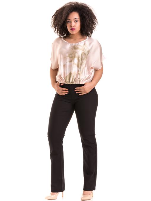 """Дамска ефирна блуза TWO""""E 13241 - цвят праскова C2"""