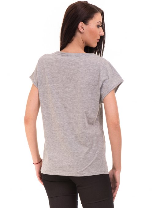 Дамска спортна блуза VIGOSS 11194 - светло сива B