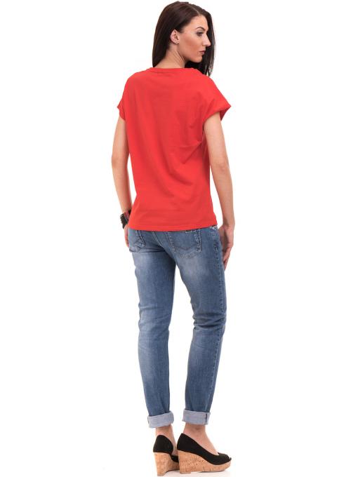 Дамска спортна блуза VIGOSS 11194 - червена E
