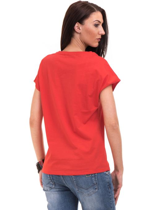 Дамска спортна блуза VIGOSS 11194 - червена B