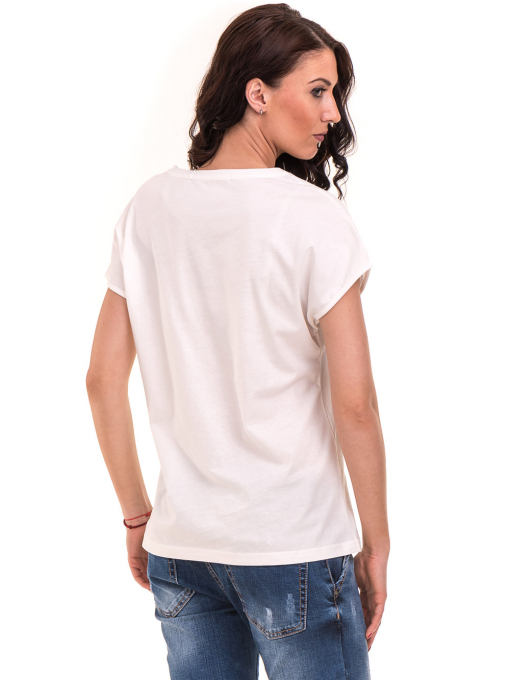 Дамска спортна блуза VIGOSS 11194 - бяла B