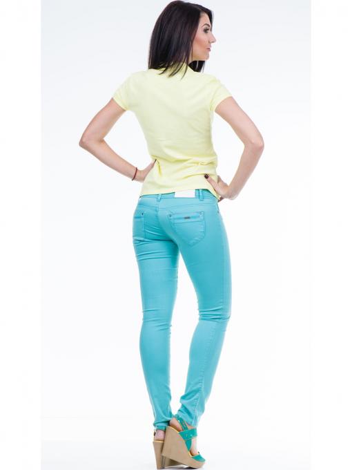 Дамска блуза с яка XINT 746 - жълта E