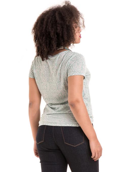 Дамска блуза с фигурален десен XINT 825 - цвят резеда B