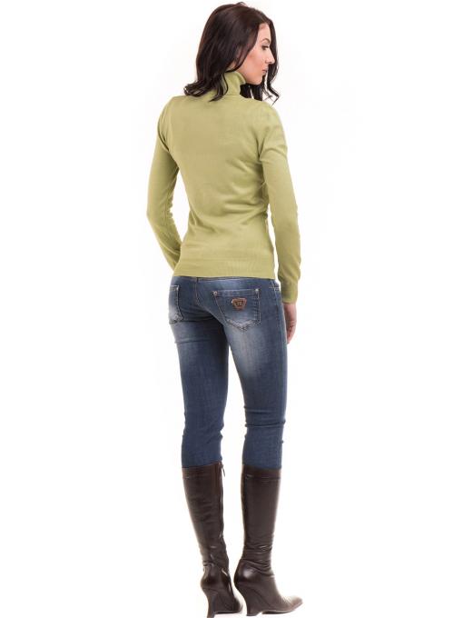 Дамска поло блуза  STAMINA 13201 - зелена E