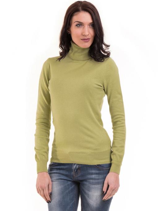 Дамска поло блуза  STAMINA 13201 - зелена