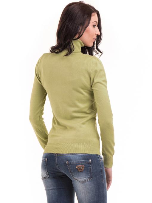 Дамска поло блуза  STAMINA 13201 - зелена B