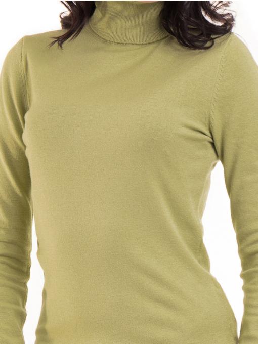 Дамска поло блуза  STAMINA 13201 - зелена D