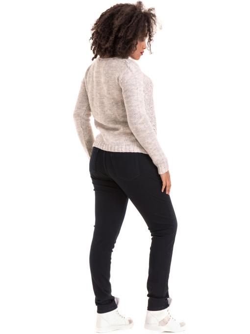 Дамско плетиво XINT 028 - светло сиво E