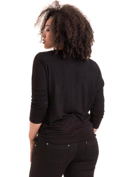 Дамска блуза GREEN APPLE - тъмно бежова B