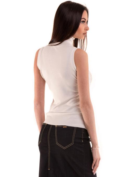 Дамска блуза JOGGY GIRLS без ръкав 2713 - цвят екрю B