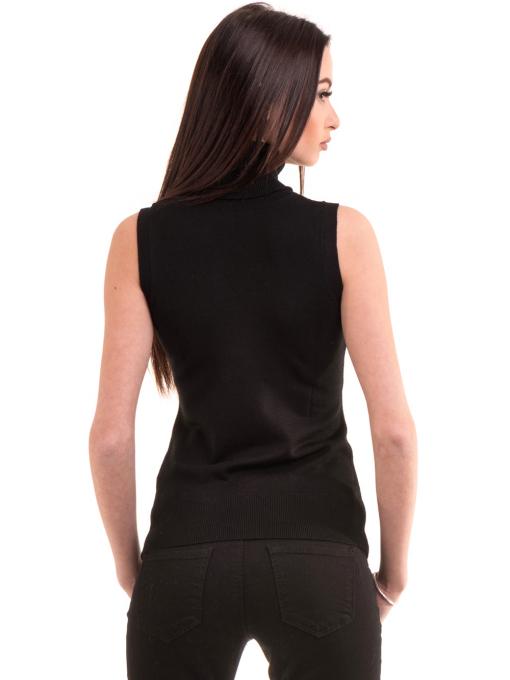 Дамска блуза без ръкави JOGGY GIRLS 2713 - черна B