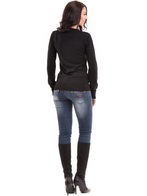 Дамска блуза JOY MISS 14202 - черна E
