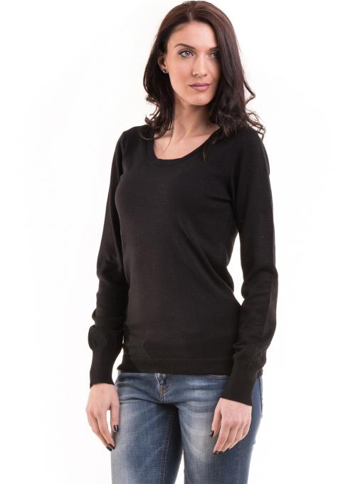 Дамска блуза JOY MISS 14202 - черна
