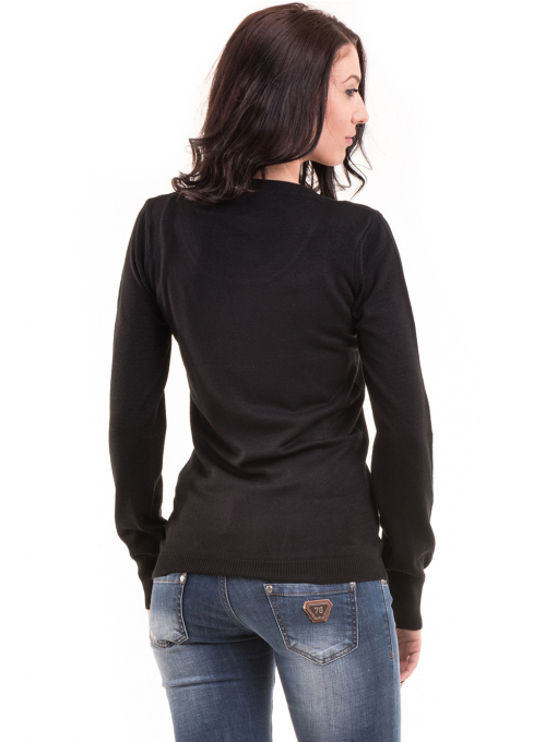 Дамска блуза JOY MISS 14202 - черна  B