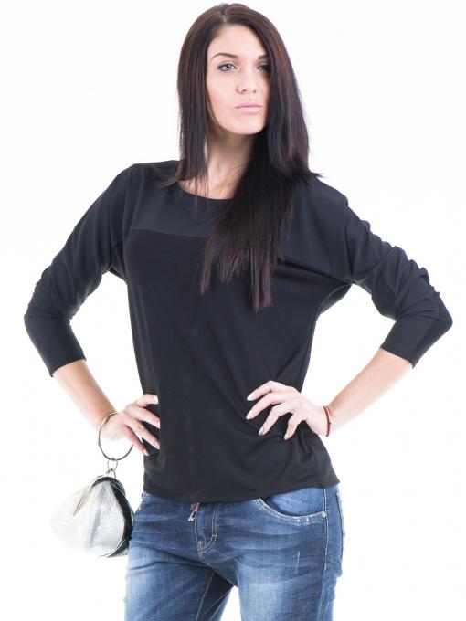 Дамска блуза JOY MISS 51068 - черна