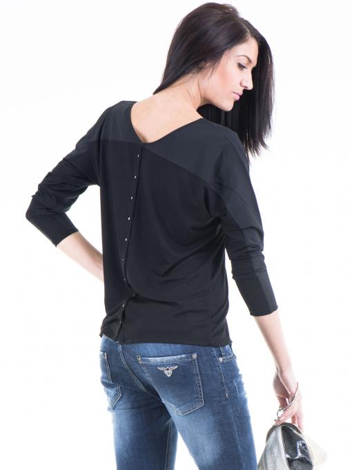 Дамска блуза JOY MISS 51068 - черна B