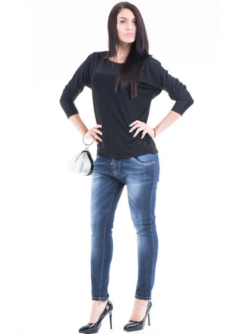 Дамска блуза JOY MISS 51068 - черна C