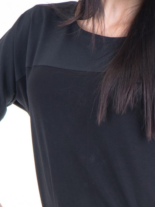 Дамска блуза JOY MISS 51068 - черна D