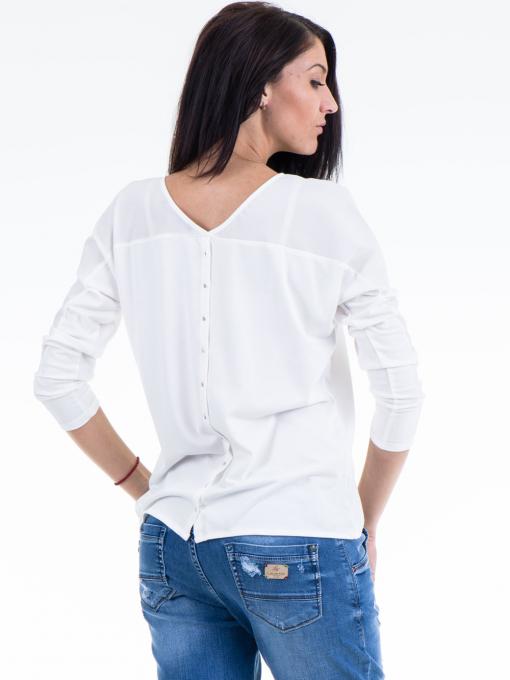 Дамска блуза JOY MISS 51068 - бяла B