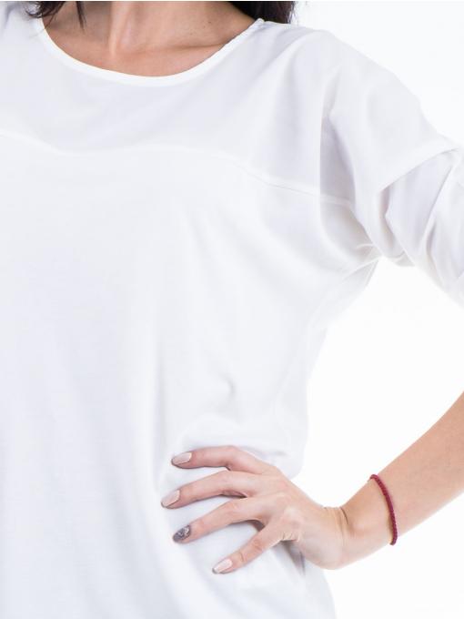 Дамска блуза JOY MISS 51068 - бяла D