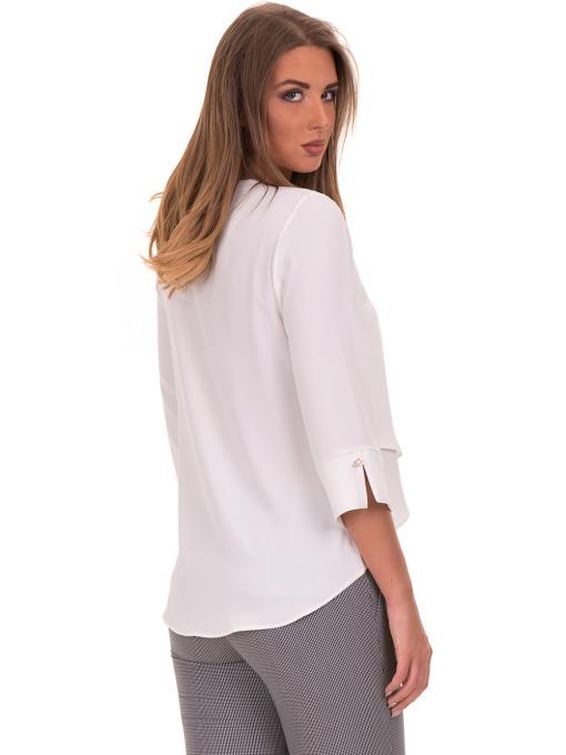 Елегантна дамска блуза  JOVENNA 2007 - цвят екрю B