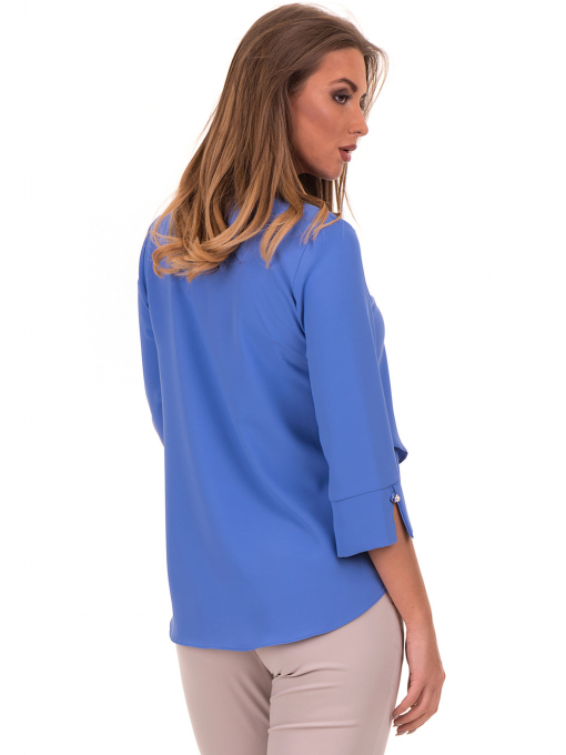 Елегантна дамска блуза  JOVENNA 2007 - синя B