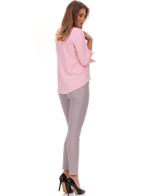 Елегантна дамска блуза JOVENNA 2007 - светло розова E