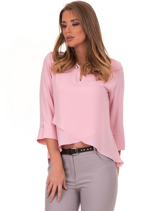 Елегантна дамска блуза JOVENNA 2007 - светло розова