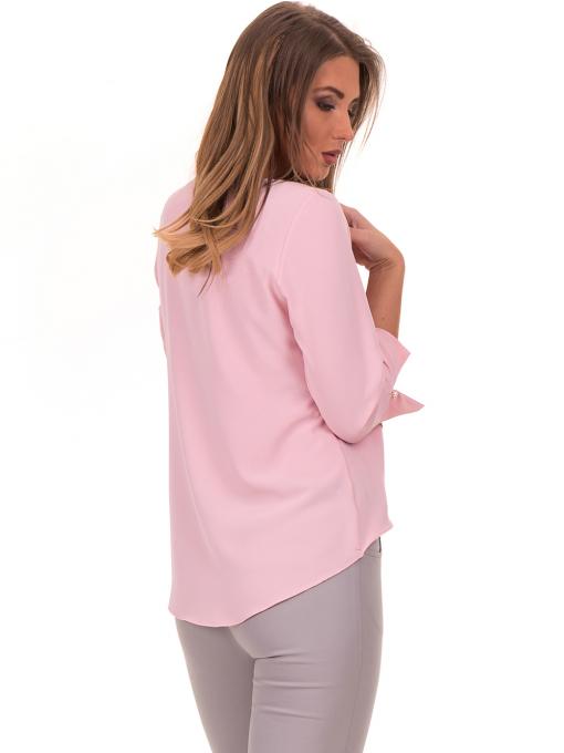 Елегантна дамска блуза JOVENNA 2007 - светло розова B