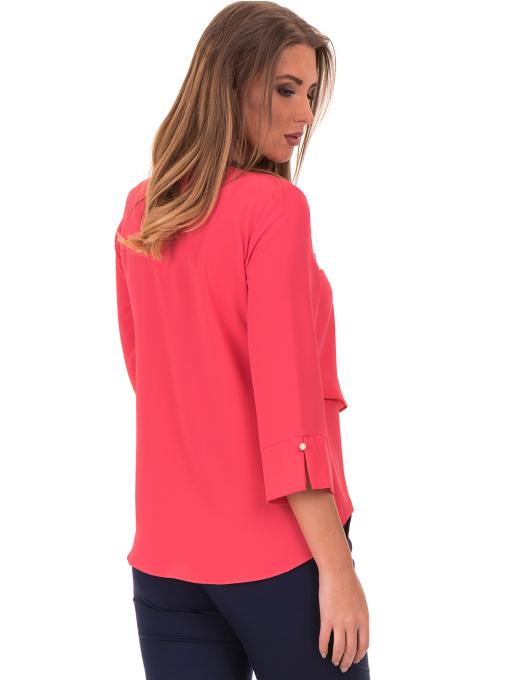 Елегантна дамска блуза JOVENNA 2007 - цвят  корал B