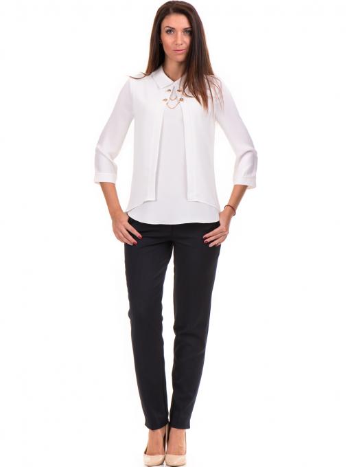 Елегантна дамска блуза JOVENNA 22869 - бяла C