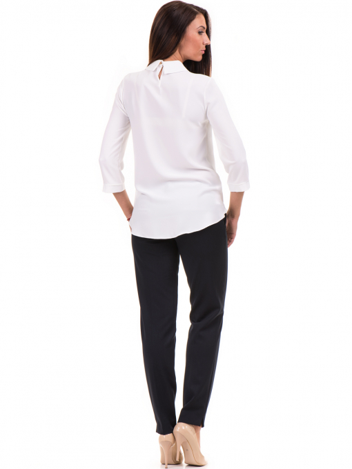 Елегантна дамска блуза JOVENNA 22869 - бяла E