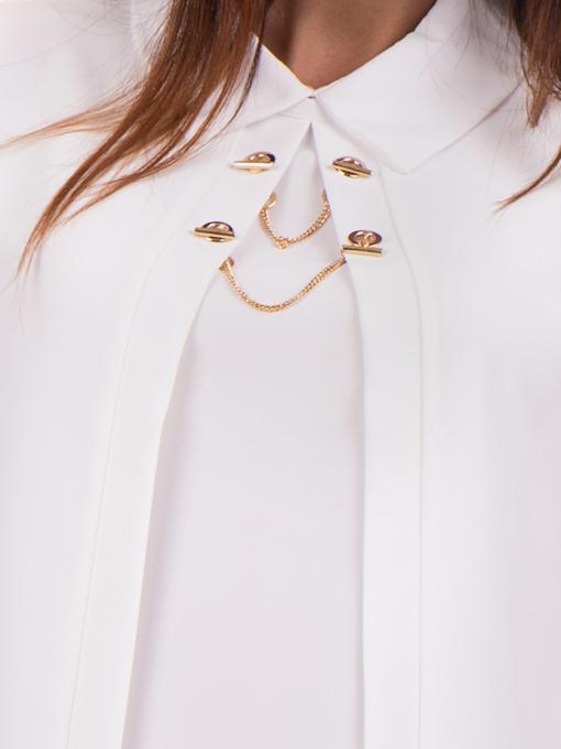 Елегантна дамска блуза JOVENNA 22869 - бяла D