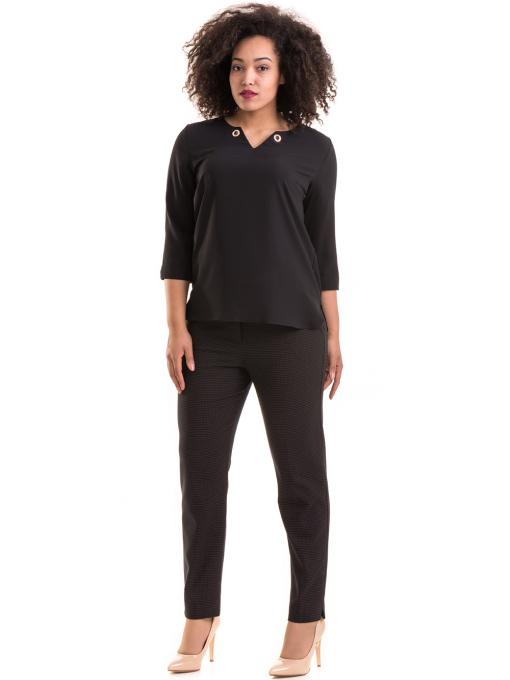 Елегантна дамска блуза JOVENNA 22875- черна C