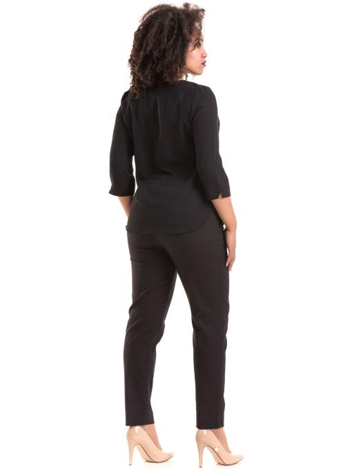 Елегантна дамска блуза JOVENNA 22875- черна E