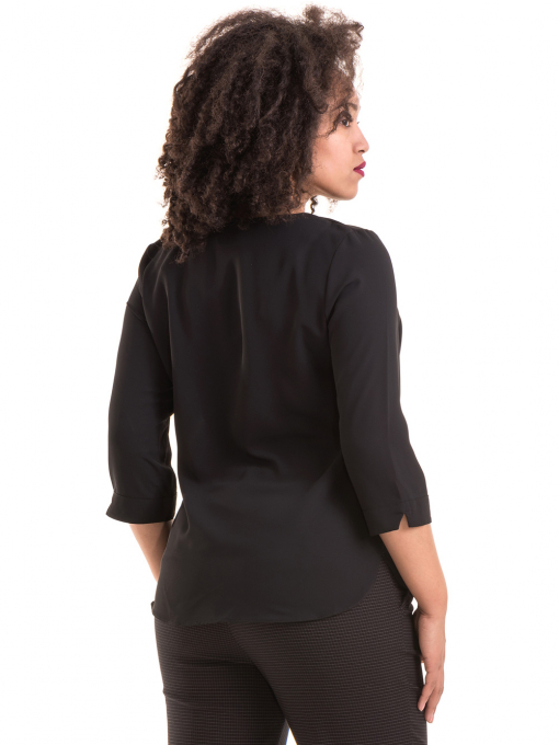Елегантна дамска блуза JOVENNA 22875- черна B