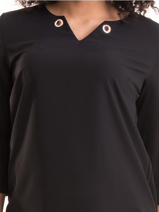 Елегантна дамска блуза JOVENNA 22875- черна D