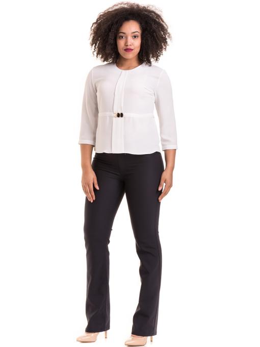 Елегантна дамска блуза JOVENNA 22898 - бяла C