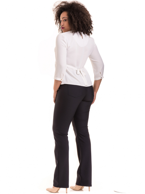 Елегантна дамска блуза JOVENNA 22898 - бяла E