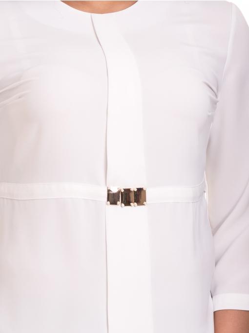 Елегантна дамска блуза JOVENNA 22898 - бяла D