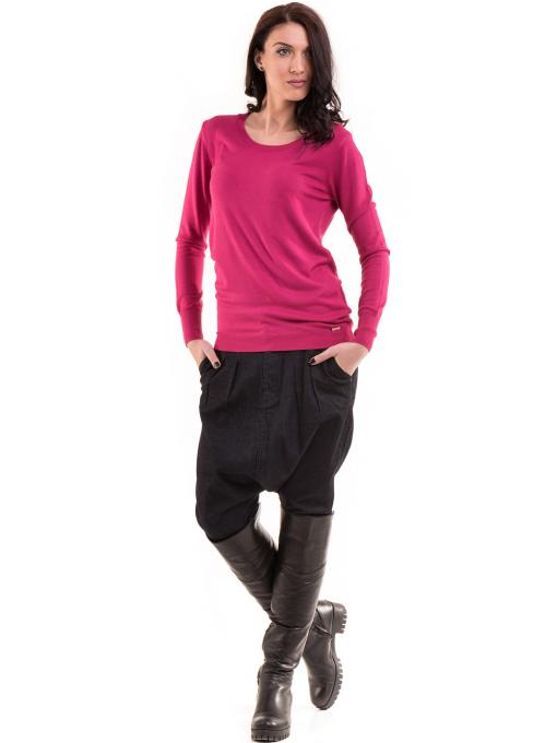 Дамска блуза  KAZEE 11052 - тъмно розова C