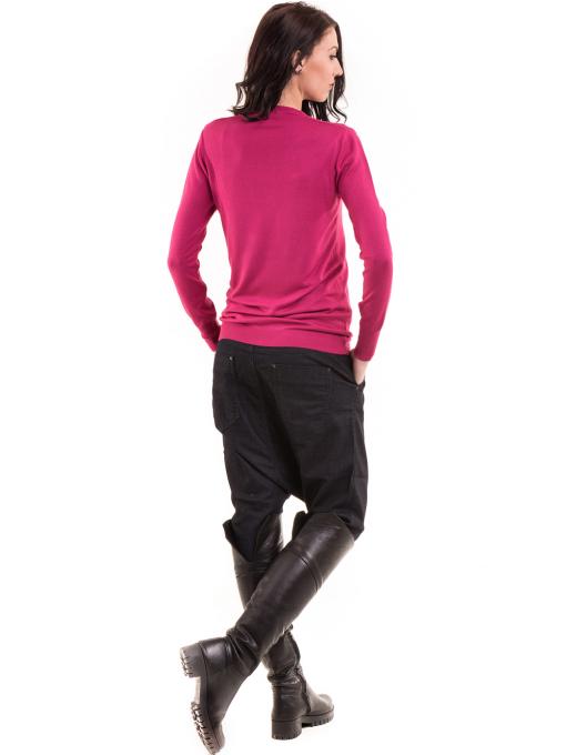 Дамска блуза  KAZEE 11052 - тъмно розова E